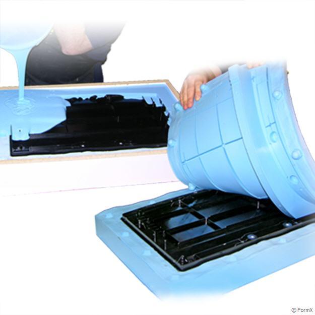 RTV Prosthetic Skin Grade Silicone Rubber 5kg kit