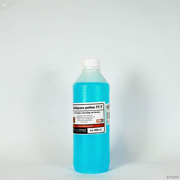 STRONGER PATINA 1 Litre TECHNOFLUX PROFESSIONAL PATINA FOR SILVER